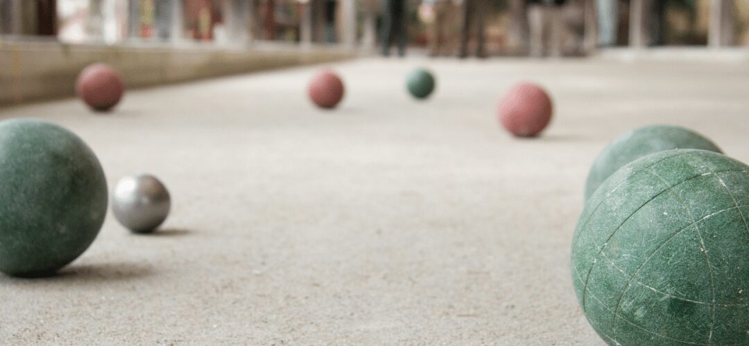 Crushed SHELL Bocce Court